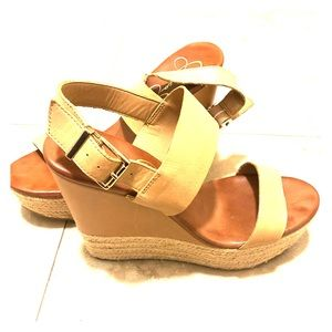 Jessica Simpson Allyn Tan Wedge